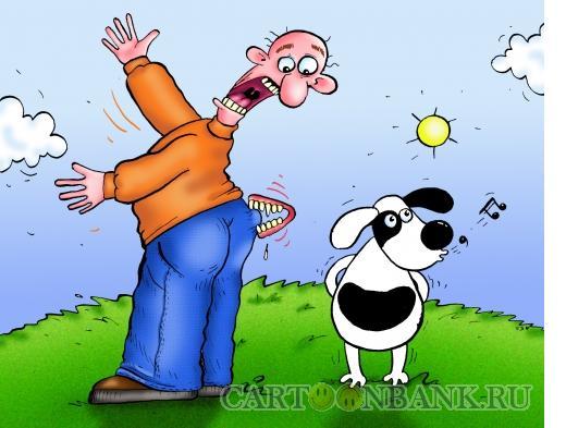 Карикатура: были зубы удалые, Соколов Сергей