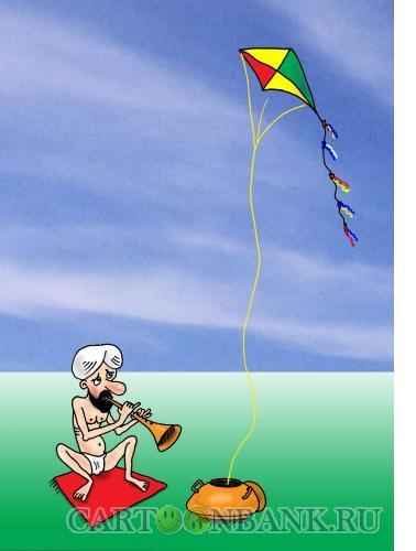 Карикатура: Музыкальный змей, Тарасенко Валерий