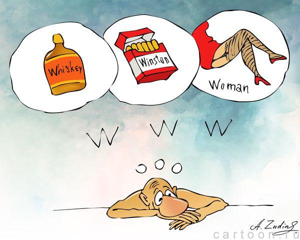 Карикатура: Всемирная паутина, Александр Зудин