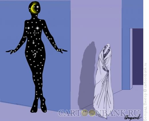 Карикатура: Ночные  соблазны, Богорад Виктор