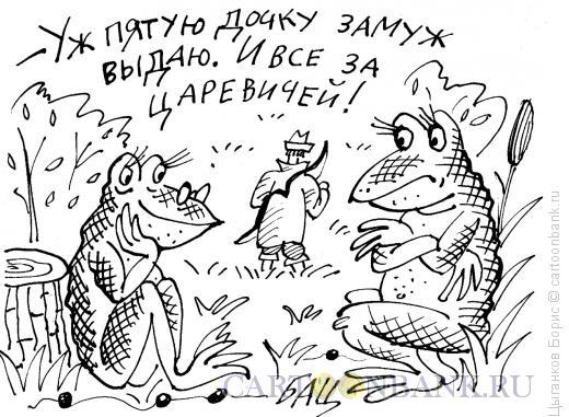 Карикатура: Выдать замуж, Цыганков Борис