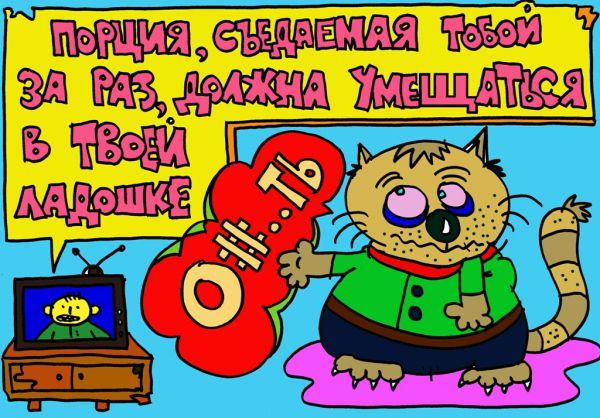 Карикатура: моя жизнь не будет прежней!, leon2008