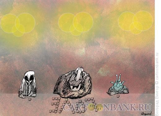 Карикатура: Несчастный влюбленный, Богорад Виктор