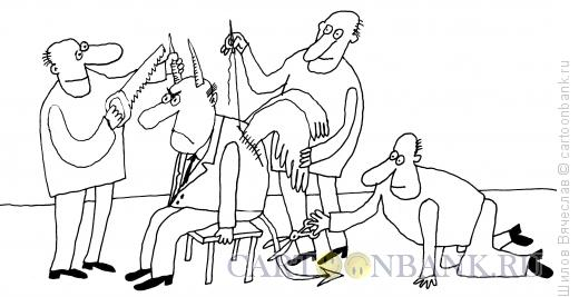 Карикатура: Идеальный политик, Шилов Вячеслав