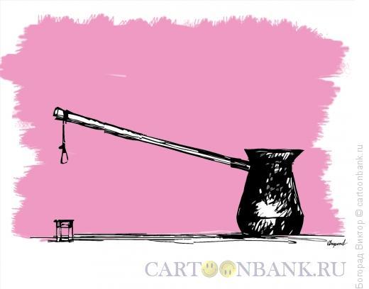 Карикатура: Тяжелое утро, Богорад Виктор