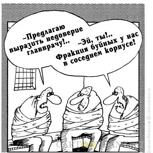 Карикатура: Фракция буйных, Шилов Вячеслав