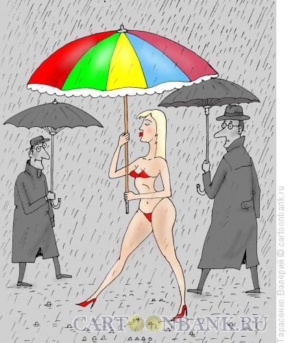 Карикатура: Бабье лето, Тарасенко Валерий