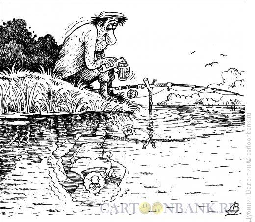 Карикатура: Всевидящее око, Дубинин Валентин