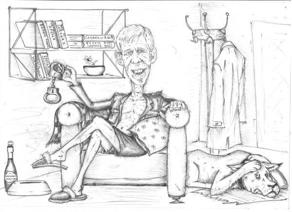 Карикатура: Ко мне, Мухтар! Новая версия (18+), Павел Валерьев