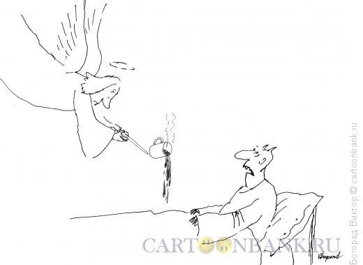 Карикатура: Неуклюжий ангел, Богорад Виктор