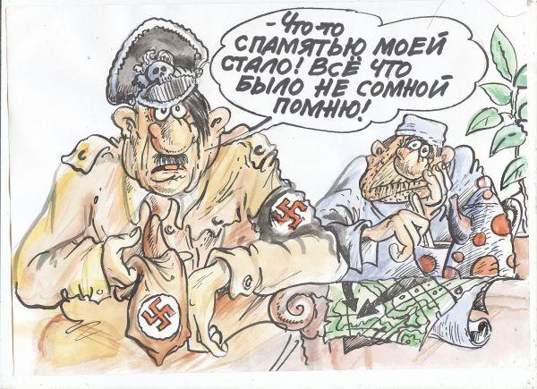 Карикатура: палата номер шесть, Бауржан Избасаров