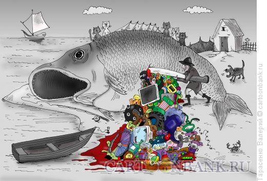 Карикатура: Находка, но не порт, Тарасенко Валерий