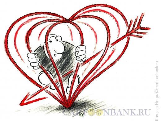Карикатура: Чувство любви, Шинкар Игорь