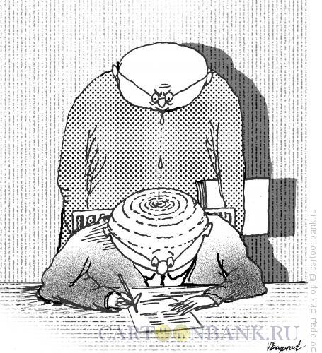 Карикатура: Босс, Богорад Виктор