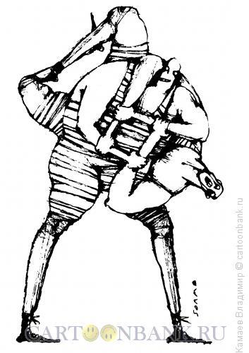 Карикатура: Захват, Камаев Владимир