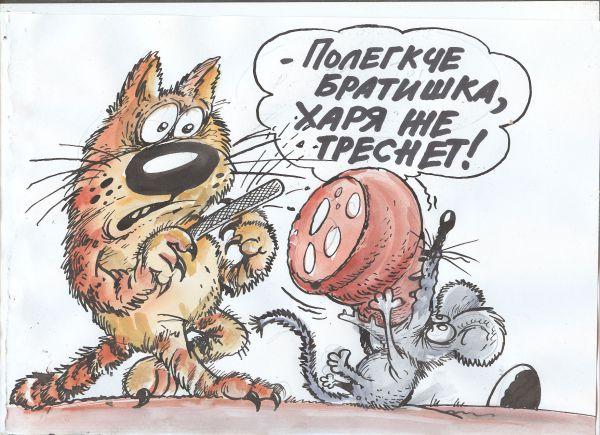 Карикатура: Проглот, ИЗБАСАРОВ БАУРЖАН