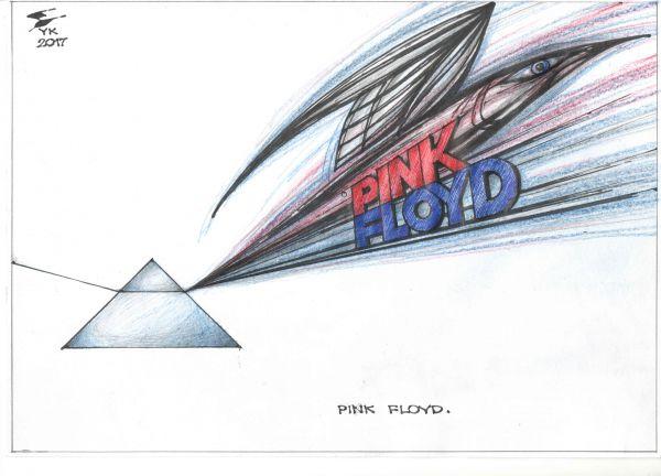 Карикатура: Pink Floyd ., Юрий Косарев