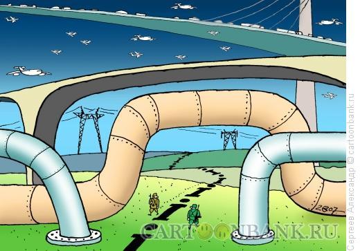 Карикатура: Пограничники, Сергеев Александр