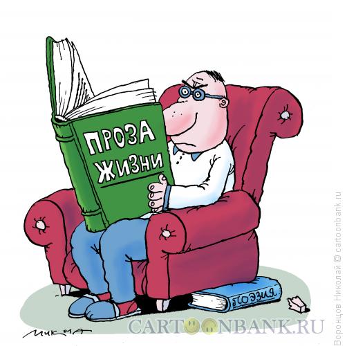 Карикатура: Проза жизни, Воронцов Николай