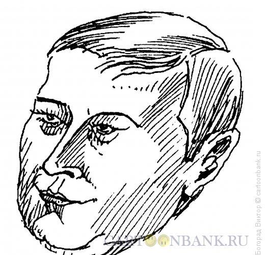 Карикатура: Михаил Михайлович Касьянов, Богорад Виктор