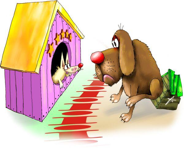 Карикатура: граница, Ануфриев