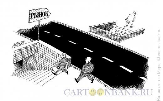 Карикатура: Переход, Валиахметов Марат