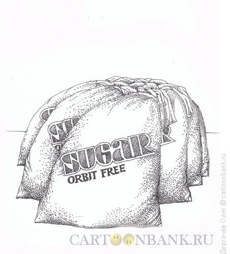 Карикатура: Сахар, Дергачёв Олег