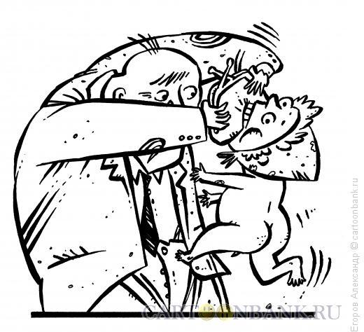 Карикатура: Кошмар алиментщика, Егоров Александр