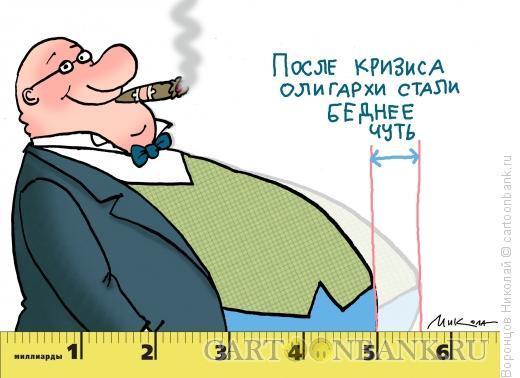 Карикатура: Олигарх, Воронцов Николай