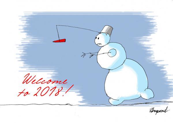 Карикатура: 2018, Богорад Виктор
