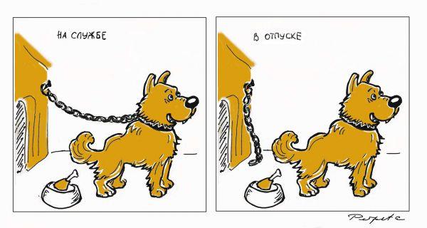 Карикатура: Постоянство., Perpeta