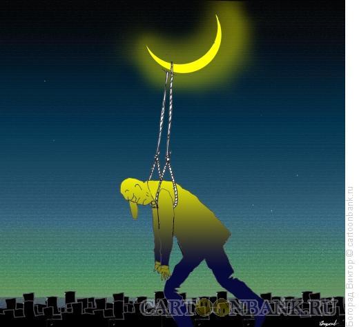 Карикатура: Дорога домой, Богорад Виктор