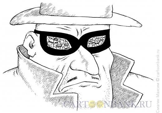 Карикатура: Маска мафии, Смагин Максим
