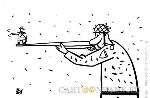 Карикатура: Мушка, Иорш Алексей
