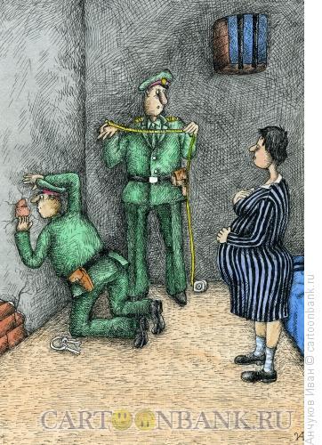 Карикатура: одиночная камера, Анчуков Иван
