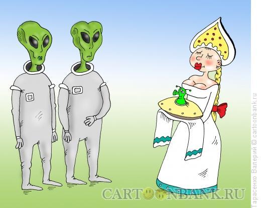 Карикатура: Гуманоизм, Тарасенко Валерий