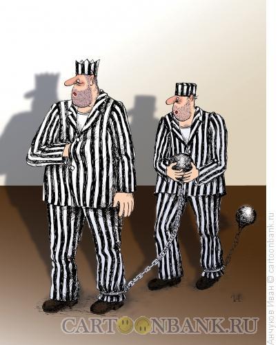 Карикатура: Тюрьма, Анчуков Иван