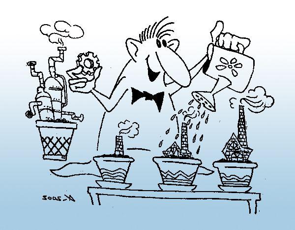 Карикатура: Экологическое производство, Kapry