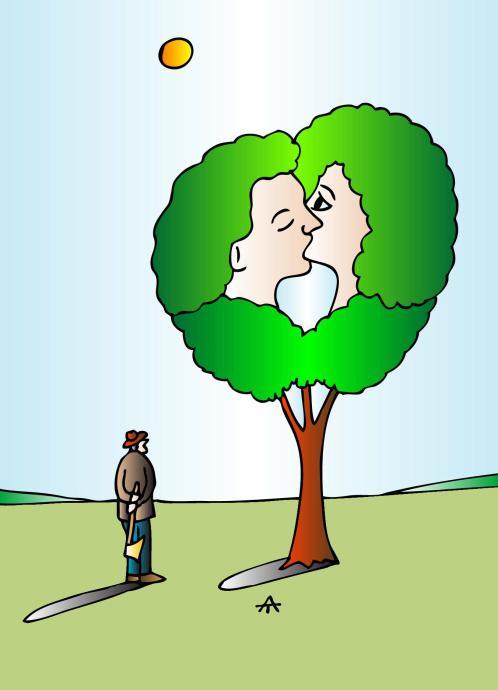 Карикатура: Зависть, Алексей Талимонов