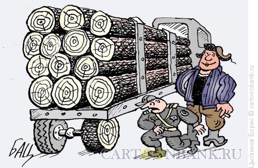 Карикатура: Запаска, Цыганков Борис
