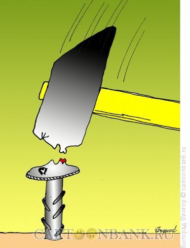 Карикатура: Страстный поцелуй, Богорад Виктор