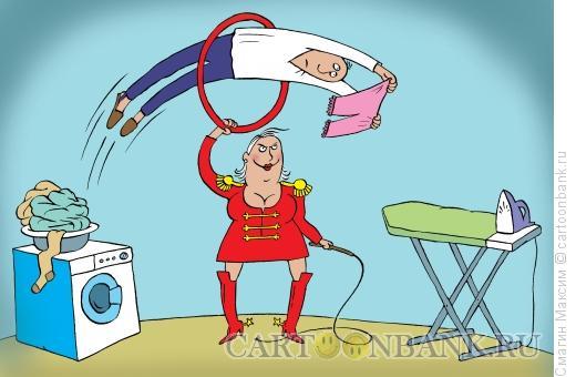 Карикатура: Чудеса дрессировки, Смагин Максим
