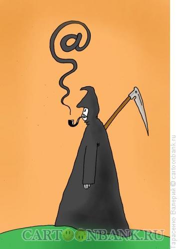 Карикатура: Собачья смерть, Тарасенко Валерий