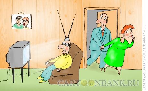 Карикатура: Телемания, Тарасенко Валерий