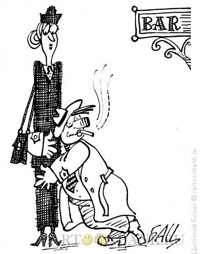 Карикатура: Точка опоры, Цыганков Борис