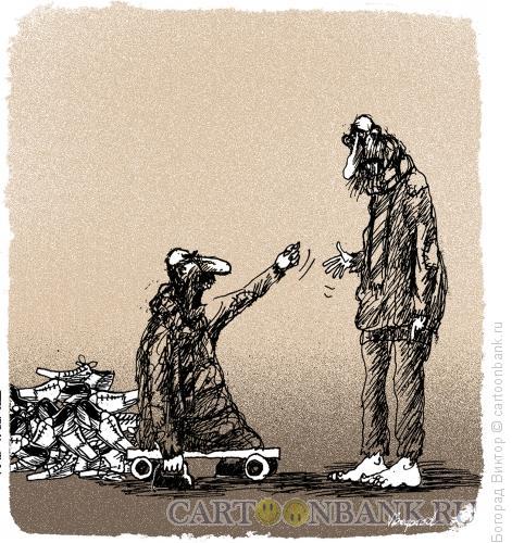 Карикатура: Жадина, Богорад Виктор