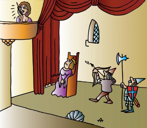 Карикатура: Театр, Алексей Талимонов