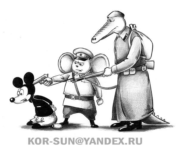 Карикатура: Наши, Сергей Корсун