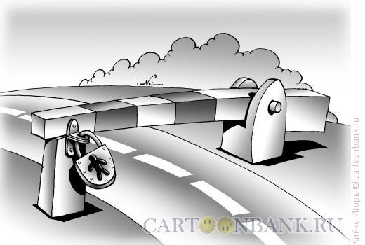 Карикатура: Иммиграция, Кийко Игорь