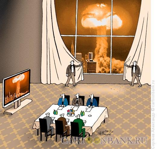 Карикатура: Переговоры, Сергеев Александр